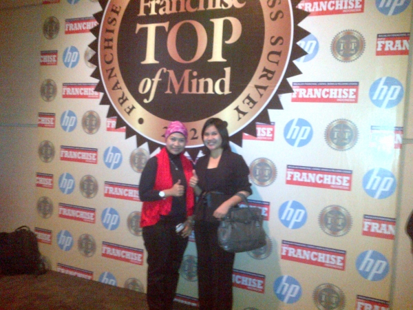 Franchise Top of Mind Award